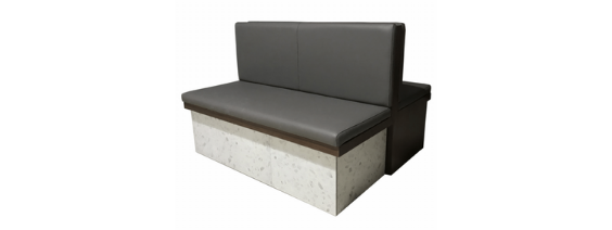 Double Booth Seat
